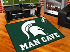 Michigan State Spartans Man Cave Area Rug Choose from 4 Sizes