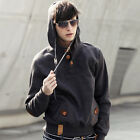 Man's New  Winter Hooded Jacket  Casual Outerwear Coat Male's Autumn Pullover