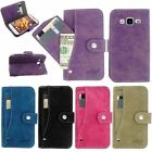 Stand Leather Wallet Case Cover For Samsung Galaxy Core Prime Prevail LTE G360