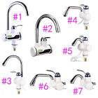 220V 3000W Kitchen Instant Hot Water Faucets Fast Heating Electric Mixter Taps