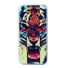 New Fashion Cool Tiger Pattern Skin Hard Back Case Cover For iPhone 5Cкорпуса