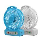 New Mini 3 SPEED Portable USB Rechargeable Cooling Cooler Travel FAN + Battery