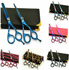 Giftset Hairdressing & Hair Thinning Scissors J2 Stainless Steel 5.5""