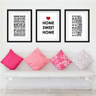 Wall Quote Stickers Home Sweet Home House Rules In this House Wall Decals