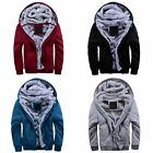 4Colour Fashion Winter Men Hoodies Sweatshirts Casual Sports Male Hooded Jackets