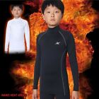Kids Thermal Underwear Base Layer Compression Shirts Long Sleeve Napping NLK