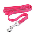 Reflective Nylon Pet Dog Leash Lead Training Traction Rope Cord Clip Size M/XL
