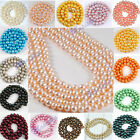 High Quality 5mm-9mm Colorful Round Freshwater Pearl Loose Beads Jewelry DIY
