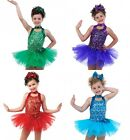 Get Your Sparkle On Glitter Ballet Tutu Tap Christmas Colors Dance Costume USA
