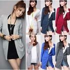 Hot Women Long Sleeve Sweater Knitted Cardigan Fashion Jacket Coat Outwear Tops