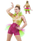 Super Sassy Boy Short Unitard Biketard Ballet Acro Dance Costume Child/Adult USA