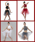 Visions Top/Shorts w/Skirt Christmas Ballet Contemporary Lyrical Dance Costume