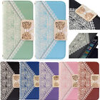 Fashion Fresh Cute Flip PU Leather Wallet Card Holder Case Cover Skin for iPhone