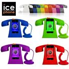 Ice Phone Smartphone Retro Handset + Base Rubberised Finish +iPhone Android App