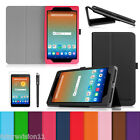 Leather Case Cover for AT&T Trek HD 8 inch 4G LTE Tablet Screen Protector Stylus