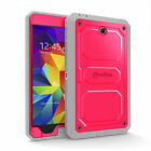Samsung Galaxy Tab 4 7 7.0 Unibody Dual Layer with Screen Protector Case Cover
