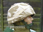 NEW BRITISH ARMY SURPLUS DDPM HELMET COVER WILL FIT MK.6 KEVLAR OR PARA S-L-SAS