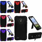 Hybrid Hard Shield Stand Cover Case For Alcatel One Touch Pop Icon 2 A846L