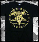 Venom - Welcome To Hell gold print t-shirt - Official Merch