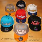 EXCLUSIVE KIDS SNAPBACK CAPS, BOYS/GIRLS FLAT PEAK FITTED HATS, HIP HOP BASEBALL