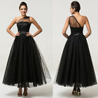 Vintage Masquerade Ball Gown Bridesmaid Cocktail Evening Party TEA Prom Dresses