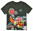 Boys Official Star Wars Angry Birds TShirt New Kids Short Sleeved Top 8-15 Years