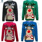 Ladies Womens kids X-MAS CHRISTMAS Novelty Vintage JUMPER RETRO lot Sweater