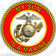 USMC VET MY SON IS A MARINE Stickers Magnet Wall-Graphic Poster OR Banner