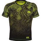 Venum Fusion Short Sleeve Compression Shirt (Black/Yellow)