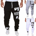 Mens Casual Warm Jogging Training Sweat Pants Sports Trousers Tracksuit Bottoms