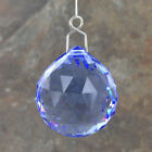 Christmas Decoration Swarovski Crystal Hanging Snowdrop Spheres Window 8 COLOURS