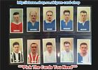 ☆ Carreras - Famous Footballers 1935 (G) ***Pick The Cards You Need***