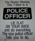 The Person Wearing This Tshirt Is A POLICE OFFICER America's Finest 911 Funny