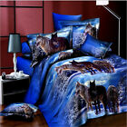 Luxury 3D Bedding Doona Duvet Cover Set And 2 Pillowcases Or Flat Double Size #C
