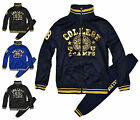 Boys College Champions Tracksuit New Kids Zip Jacket & Bottoms Ages 3-14 Years