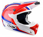LAZER SMX NATIONS RED WHITE BLUE MX MOTOCROSS MOTORCYCLE HELMET