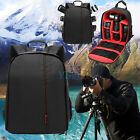 Hot Waterproof DSLR Backpack Case Bag For Canon Nikon Sony Camera Lens Red EM