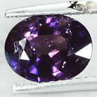 2.1 Ct.Unheated Natural Oval 7 * 9 mm Intense Violet Tanznaia Sapphire Gems