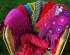 Ladies Womens Crochet Knitted Fashion Scarfs All Different - Select Your Choice
