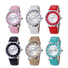 Fashion Women's Watch Retro Dial Leather Analog Geneva Quartz Wrist Watch Gifts