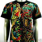 RC Survivor T-Shirt Sz M L XL 2XL 3XL Dragon Koi Fish Japanese Tattoo Rock C152