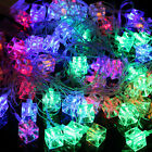 Christmas Ornament LED String Fairy Light Party Wedding Xmas Decoration Lamp