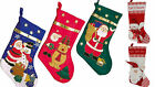 Christmas boots santa claus snowman st nicholas stockings to fill NEW