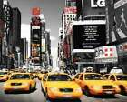New Tork Times Square Yellow Cab Travel Poster 16x20 Poster Service