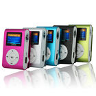 Mini USB Clip MP3 Player LCD Screen Support 32GB Micro SD TF Card Black Friday