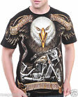 Limited RC Survivor T-Shirt Sz M L XL 2XL Hunter Eagle Hawk Biker Tattoo C193