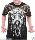 Limited RC Survivor T-Shirt Sz M L XL 2XL Skull Bone Biker Rock Tattoo C197