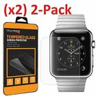 2-PACK Premium Tempered Glass Screen Film Protector For Apple Watch 42mm / 38mm