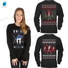 HOTLINE BLING Drake Ugly Christmas jumper FUNNY GIFT Unisex lot Ladies Sweater