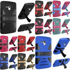 2 Layer Rugged Armor Case Cover w/Stand For Alcatel OneTouch Fierce XL 5054